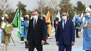 Irak Başbakanı Kazımi ve Cumhurbaşkanı Erdoğan