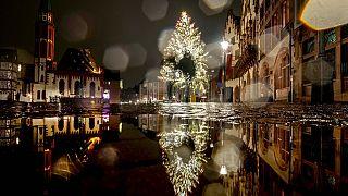 Frankfurt kurz vor Weihnachten - Angst vor Corona
