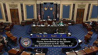 Votación en el Senado de Estados Unidos