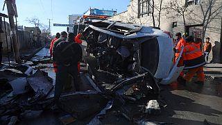 چهار پزشک و یک رهگذر در انفجار سهشنبه کابل کشته شدند