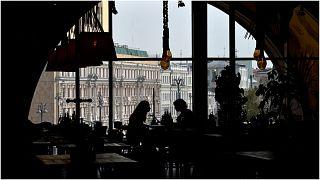صورة أرشيفية - مطعم في روسيا