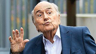 FIFA'nın eski başkanı Sepp Blatter