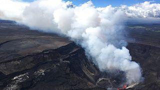 a Kilauea vulkán Hawaiin