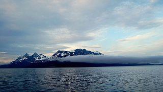 Meer im Norden von Norwegen.