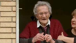 Η 109 ετών Λουίζα Ζαπιτέλι από το Τσιτά ντε Καστέλο