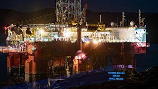 Mobilitazione di Greenpeace in Norvegia contro le trivellazioni nell'Artico