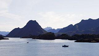 Vestfjorden a Lofoten szigetcsoportnál