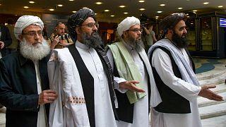 سران گروه طالبان در مسکو، سال ۲۰۱۹