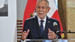O ομοσπονδιακός πρόεδρος της Αυστρίας Αλεξάντερ Βαν ντερ Μπέλεν