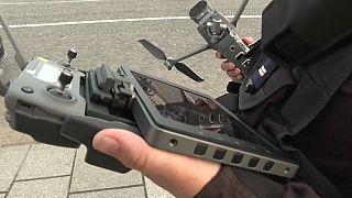 La police s'entraîne à l'usage des drones