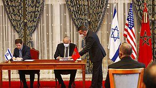 Fas ile İsrailli heyet arasında anlaşmalar imzalandı