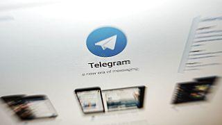 نشان تجاری پیامرسان تلگرام