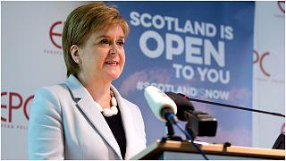 رئيسة الوزراء الاسكتلندرية نيكولا ستورجون