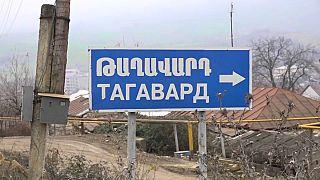 Тагавард: село, разделённое войной
