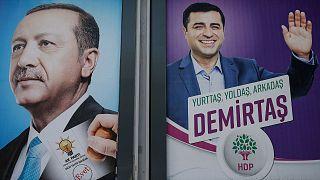 پوستر انتخاباتی سال ۲۰۱۸ در ترکیه