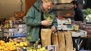 I consumatori britannici temono la riduzione della disponibilità di frutta e verdura fresche