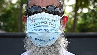 احتجاجات سريلانكا