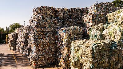 European countries ship vast quantities of plastic waste to the Global South for processing.