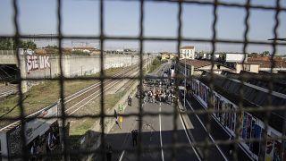 Италия, мигранты