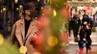 Karácsony előtti bevásárlás Londonban