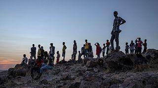 آوارگان نبردها در شمال اتیوپی