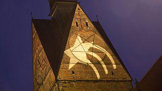 Marktkirche Hannover am Tag vor Weihnachten 2020