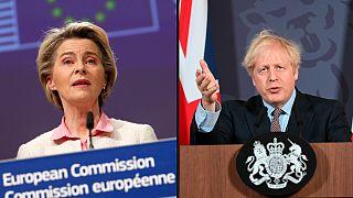 Presidente da Comissão Europeia e primeiro-ministro britânico anunciaram entendimento