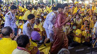 """Die Geliebte des Königs von Thailand Sineenat """"Koi"""" Wongvajirapakdi - auch Sineenat Bilaskalayani am 1.11.2020"""