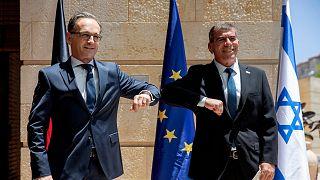 وزرای خارجه اسرائيل و آلمان در کنار هم