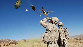 سربازان وابسته به شرکت امنیتی بلکواتر در افغانستان