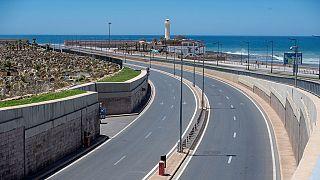 Rues désertes à Rabat pour le nouveau couvre-feu