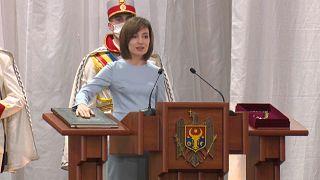 Maia Sandu, nouvelle présidente de la Moldavie