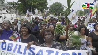 RCA : Manifestation pour la paix à Bangui