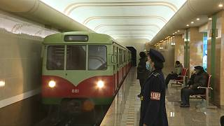 قطار الأنفاق في بيونغ يانغ
