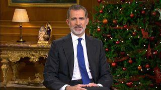 El rey de España en su mensaje de Navidad