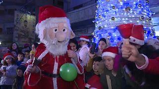Fröhliche Weihnachten Weltweit