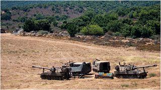 قوات إسرائيلية على الحدود مع لبنان