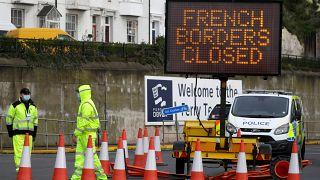 UK FRANCE BORDERS
