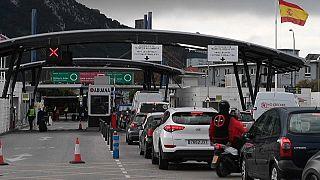 Frontera entre España y Gibraltar