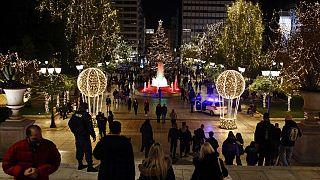 Natale in Grecia fra restrizioni e crisi economica