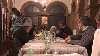 Homeless shelter in Rome provides help and hope for people in need