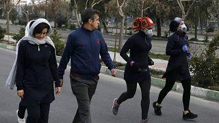 Tahran sokakları (arşiv)