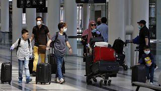 مسافرون في مطار رفيق الحريري
