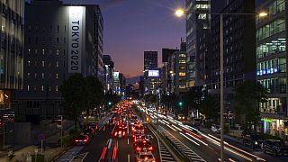 Japonya'nın başkenti Tokyo'da trafik