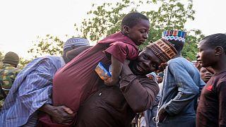 Noël dans un camp de déplacés de Maiduguri