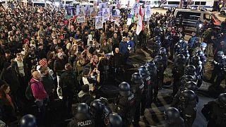 Protest der Querdenken-Bewegung in Stuttgart am 07.11.2020