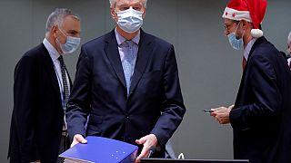 Los embajadores de la Unión Europea celebran en Bruselas el acuerdo post-Brexit