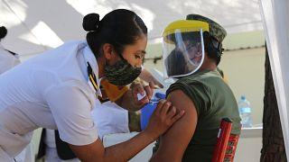 México fue el primer país en comenzar la campaña de vacunación en América Latina.