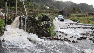 Temporal provoca estragos na Madeira