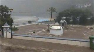 Inondations sur l'île de Madère